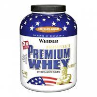 Weider Premium Whey Protein - 2300 g jahoda-vanilka