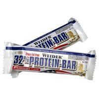 Weider 32% Protein Bar - 60 g, tyčinka banán-bílá čokoláda