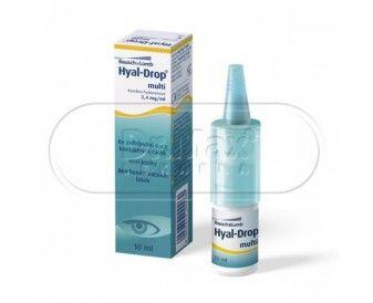 BAUSCH & LOMB Hyal-Drop multi oční kapky 10ml