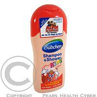 A.C.HAASE Bübchen šampon a sprch.gel pro děti jahoda 200ml