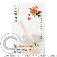 AMZ Tea of life Bio čaj stimulační 25x2g : VÝPRODEJ exp. 2010-11-30