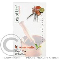 AMZ Tea of life Bio čaj detoxikační 25x2g