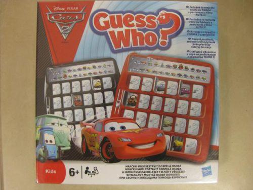 Hasbro Spol. hra hádej kdo cars 2 cena od 0 Kč