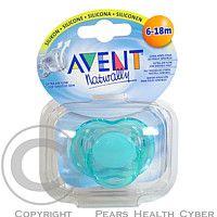 AVENT CANNON RUBBER LIMITED AVENT idítko silikon sensitiv 6 18 měsíců 1ks