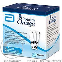 ABBOTT LABORATORIES LTD., MONTREAL Test.proužky Optium Omega 25ks