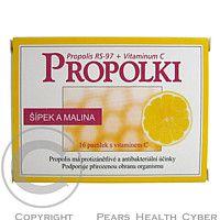 APIMED Propolki šípek a malina pastilky 16