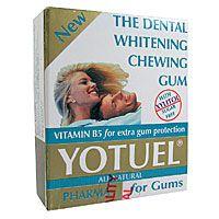 BIOCOSMETICS Yotuel Bělící dentální žvýkačky Pharma 10ks