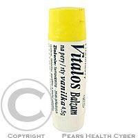 VITALOS Balzám na rty Vitalos vitamínový Vanilka 4.5g