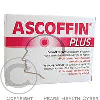 BIOMEDICA Ascoffin Plus 10 sáčků/4g - Doplněk stravy se sladidlem