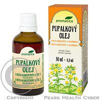 AROMATICA CZ AROMATICA Pupalkový olej s beta-karotenem a vitamínem E 50 ml