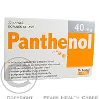 Dr.Müller Panthenol cps. 30 x 40 mg