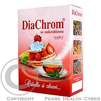 AGROBAC DiaChrom se sukralózou sypký 200g nízkokalorické sladidlo