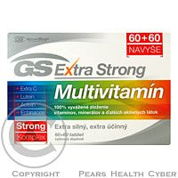GREEN SWAN GS Extra Strong Multivitamin tbl.60+60 cena od 340 Kč