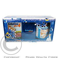 ANTON HUBNER CO. Gelatina Plus cps.360 + Gelatina Plus 4 cps.90