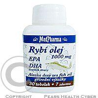 K-MAX HEALTH PRODUCTS CO. MedPharma Rybí olej 1000mg+EPA+DHA tob.37