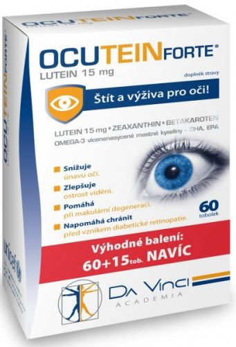 SIMPLY YOU OCUTEIN FORTE Lutein 15mg tob.60 + 15