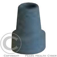 JIŘÍ SCHOBER Násadec na berle č. 3 TS pryžový šedý kovová výztuž
