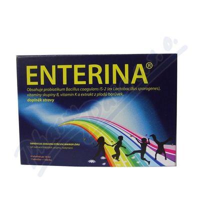 Inpharm ENTERINA lahvičky 8x10 ml