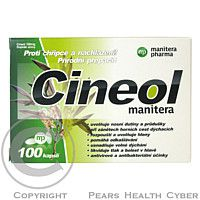 Manitera-pharma Cineol manitera 100mg cps.100