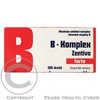 ZENTIVA B-komplex forte Zentiva drg.100 glass