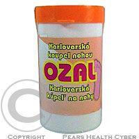 VŘÍDLO karlovarská kosmetika(r) Ozal karlovarská koupel.sůl na nohy 200g