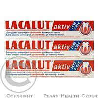ARCAM Lacalut zubní pasta aktiv 3x30ml