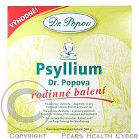 Psyllium indická rozpustná vláknina 500g Dr.Popov cena od 206 Kč