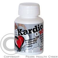 MARTIN LYSÁK - JML FITNESS LINE JML Kardio Q10+ 30mg cps.34 (L-Karnitin+vit.E+Se)