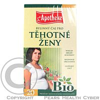 MEDIATE Čaj BIO Těhotné ženy 20x1.5g Apotheke