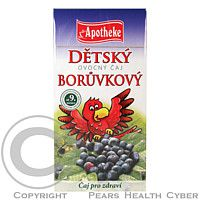 APS APOTHEKER H.STARKE GMBH, STARNBERG Dětský ovocný čaj borůvkový 20x2g