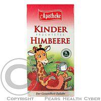 APS APOTHEKER H.STARKE GMBH, STARNBERG Dětský ovocný čaj malinový 20x2g