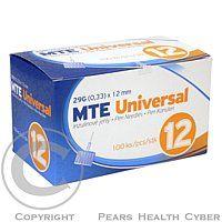 Acti-med Ag Jehly MTE Universal 29G 0.33x12mm pro inzulínová pera 100ks
