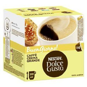 Dolce Gusto Caffé Crema Grande 16 ks cena od 90 Kč