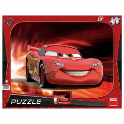 Auta 2: Blesk McQueen - rámové puzzle 12 cena od 93 Kč
