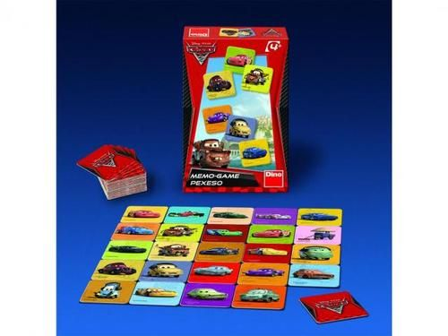 Disney - Pixar: Pexeso Cars 2 cena od 83 Kč