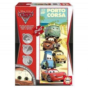 Educa Super velké puzzle Cars 2 240 dílků cena od 429 Kč