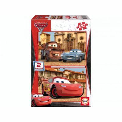 Educa Puzzle Cars 2 2x20 dílků cena od 179 Kč