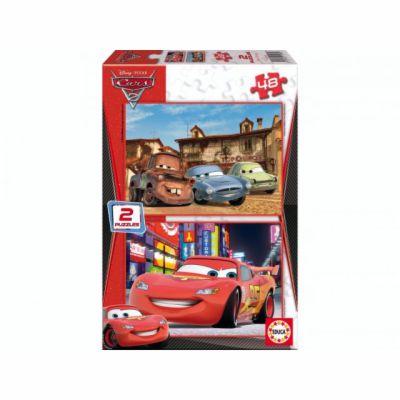 Educa Puzzle Cars 2 2x48 dílků cena od 160 Kč