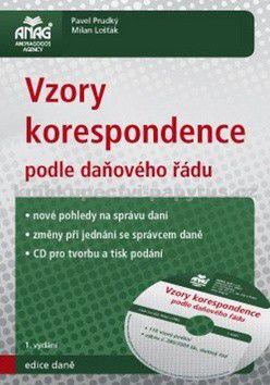 Pavel Prudký: Vzory korespondence podle daňového řádu (+ CD) cena od 389 Kč