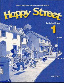 Roberts Lorena: Happy Street 1 Activity Book cena od 167 Kč