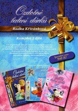 Radka Křivánková: Ozdobné balení dárků komplet 3 dílů cena od 587 Kč