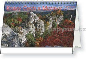 PRESCOGROUP Krásy Čech a Moravy 2012 cena od 20 Kč