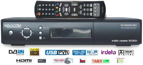 MASCOM MC2600HD IRCI USB PVR