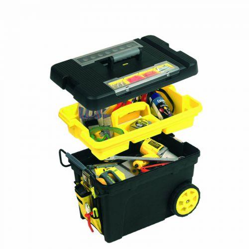 Stanley Pojízdný box s kapsovým organizérem