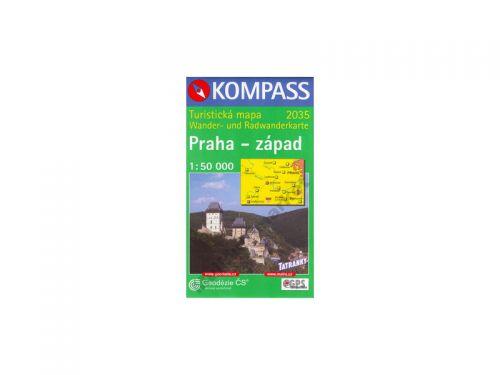 Praha - západ 1:50 000 cena od 59 Kč