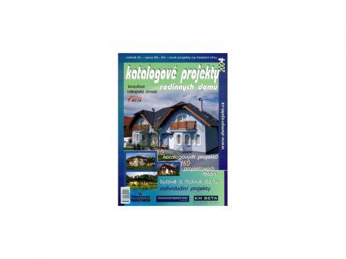 ERLIS projekt Katalogové projekty rodinných domů 2004 cena od 31 Kč