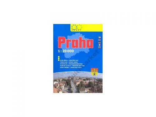 Žaket Praha knižní plán 2008 cena od 84 Kč