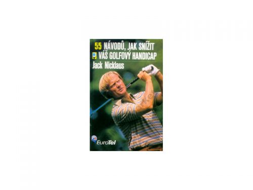 Jack Nicklaus: 55 návodů, jak sníž váš golfový handicap cena od 137 Kč