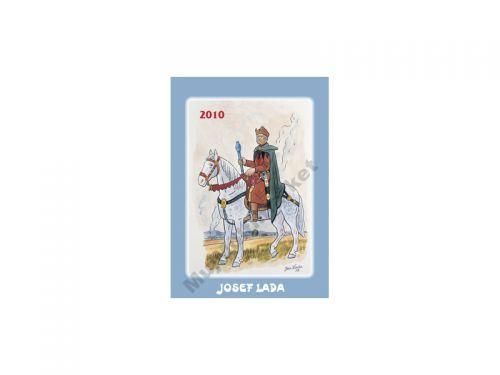 PRESCOGROUP Josef Lada Jezdec 2010 cena od 79 Kč