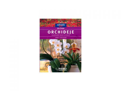 Jörn Pinske: Orchideje - Zahrada plus cena od 94 Kč